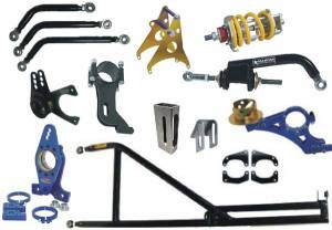 Racing chassis parts : chassis components : motor mounts