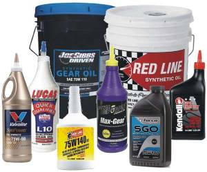 Oil, Fluids & Paint - Gear Oil