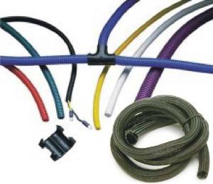 wire wraps convoluted tubing electrical wire wrap convoluted rh pitstopusa com automotive wiring harness wrap Automotive Wiring Tubing
