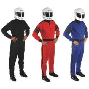 SFI-1 Rated Single Layer Suits - RaceQuip 110 Series Suits