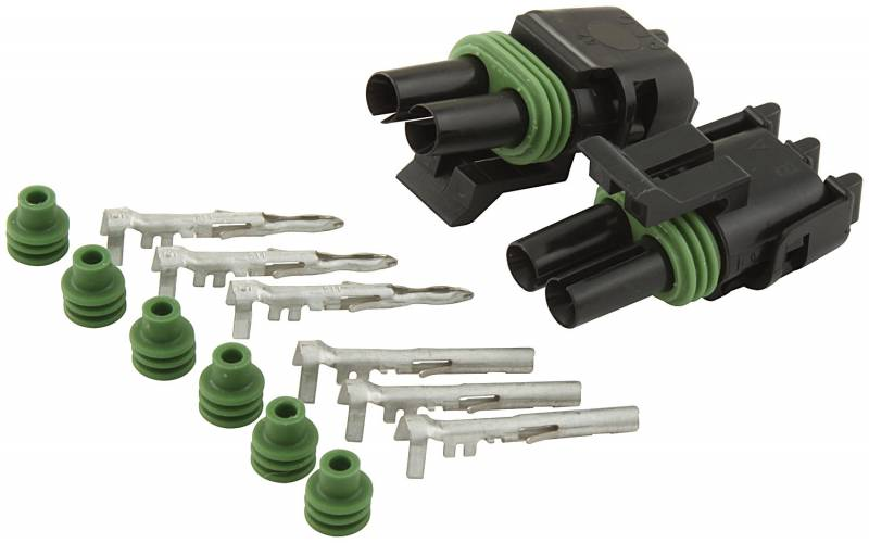 Allstar Performance Weather Pack 2-Wire Connector Kit