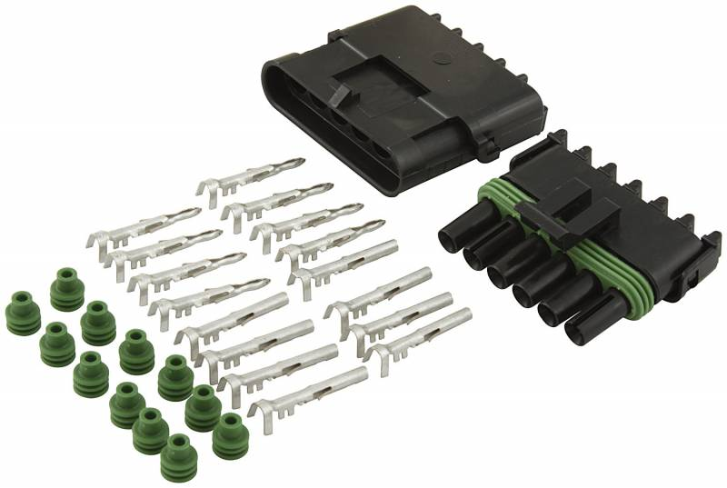 Allstar Performance Weather Pack 6-Wire Connector Kit : 76270 on