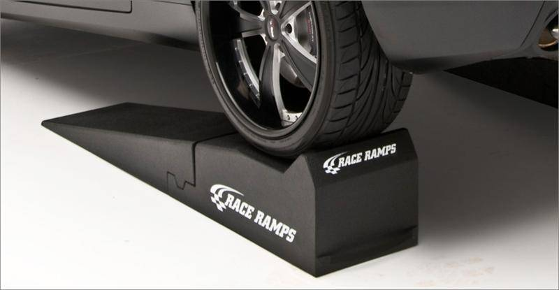 Race Ramps 56 Inch 2 Piece Car Service Ramps Set Of 2