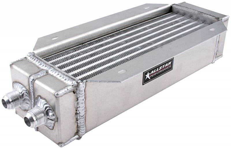 Allstar Performance Deck Mount Oil Cooler 4 X 15 X 3 1 2 Tall 30146