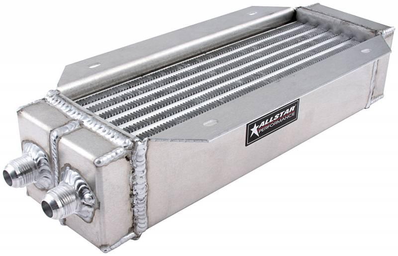 Oil Cooler Technology : Allstar performance deck mount oil cooler quot