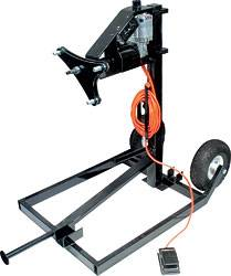 Wheel and Tire Tools - Tire Preparation Stands and Components