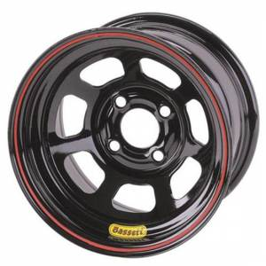 "Bassett D-Hole Lightweight Wheels - Bassett D-Hole 14"" x 7"""