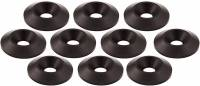 "Allstar Performance - Allstar Performance Countersunk Black Aluminum Washers - 1"" O.D. x 1/4"" (10 Pack)"