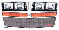 Allstar Performance - Allstar Performance MD3 Headlight Kit - Mesh