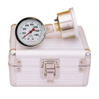 Longacre Racing Products - Longacre Quick Check Brake Pressure Gauge Set - GM Metric