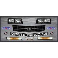 Five Star Race Car Bodies - Five Star 1988 Chevrolet Monte Carlo SS Nose - MD3 - Nose Graphics Kit