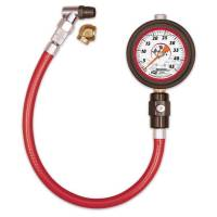 Longacre Racing Products - Longacre Liquid Filled 2  Glow In The Dark Tire Gauge - 0-45 psi by  lb