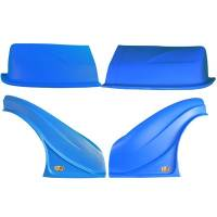 Dominator Racing Products - Dominator D2X Nose Kit - Blue