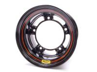 "Bassett Racing Wheels - Bassett Wide 5 Armor Edge Spun Wheel - 15"" x 10"" - Black - 6"" Back Spacing - 18 lbs."