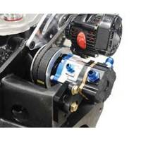 KRC Power Steering - KRC Bellhousing Mounted Alternator Braket Kit for KSE Steering Pump Drive