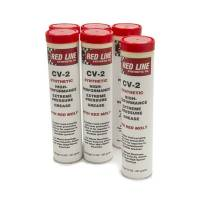 Red Line Synthetic Oil - Red Line CV-2 Extreme Pressure Grease - 14oz. Cartridge (Case of 6)