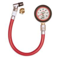 "Longacre Racing Products - Longacre Standard 2"" Glow-In-The-Dark Tire Pressure Gauge 0-30 PSI by 1/4 lb"