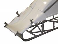 Triple X Race Co. - Triple X Sprint Car Dual Inside The Rail Nose - Black