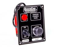 QuickCar Racing Products - QuickCar Ignition Control Panel - Warning Light - Black