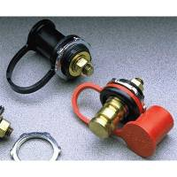 Taylor Cable Products - Taylor Remote Battery Jumper Terminal - Brass; 1 Black, 1 Red