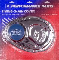 Proform Performance Parts - Proform Timing Chain Cover - Bow Tie Emblem - Stamped Steel