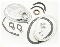 Mr. Gasket - Mr. Gasket Quick-Change Cam Cover Kit - Includes Complete Set Of Gaskets / Retainer / Timing Cover