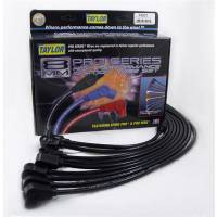 Taylor Cable Products - Taylor 8mm Spiro Pro Ignition Wire Set - Custom Fit(Black)