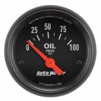 Auto Meter - Auto Meter Z-Series Electric Oil Pressure Gauge - 2-1/16""