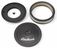 Edelbrock - Edelbrock Signature Series Black Air Cleaner - Round