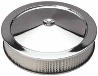 "Trans-Dapt Performance - Trans-Dapt Chrome Air Cleaner - Muscle Car Style - 14"" Diameter"