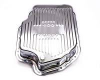 Trans-Dapt Performance - Trans-Dapt Chrome Transmission Pan - TH-400 Finned Bottom