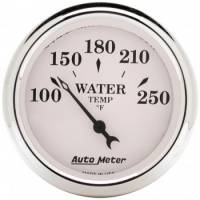 Auto Meter - Auto Meter Old Tyme White Mechanical Water Temperature Gauge - 2-1/16""