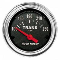Auto Meter - Auto Meter Traditional Chrome Electric Transmission Temperature Gauge - 2-1/16""