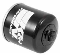 "K&N Filters - K&N Powersports Oil Filter - Canister - 3-11/32"" Tall - 20 mm x 1.5 Thread - Honda®/Kawasaki/Polaris/Yamaha"