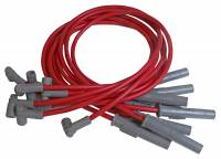 MSD - MSD Super Conductor 8.5mm Spark Plug Wire Set - Red
