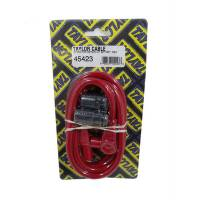 Taylor Cable Products - Taylor 8mm Spiro Pro Spark Plug Wire Repair Kit - Includes 90 Degree/180 Degree Plug Boots(Red)