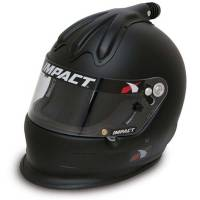 Impact - Impact Super Charger Top Air Helmet - X-Large - Flat Blk