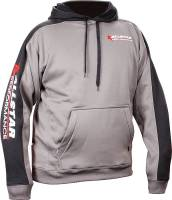 Allstar Performance - Allstar Performance Allstar Hooded Sweatshirt Silver/Black, X-Large