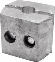 "Allstar Performance - Allstar Performance Ballast, 25 Lb. Clamp-On 4-1/2"" Long x 5-1/2"" Wide"