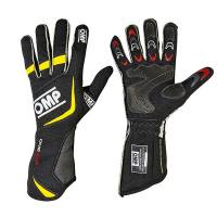 OMP Racing - OMP 2015 One Evo Gloves - Black / Fluo Yellow  - Small