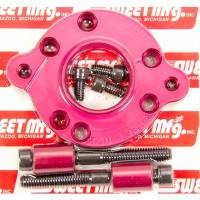 Sweet Manufacturing - Sweet Power Steering Pump Adapter to Dry Sump Pump
