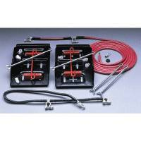 Taylor Cable Products - Taylor Battery Relocator Kit - Side-By-Side Dual Mount