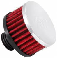 "K&N Filters - K&N Screw-In Valve Cover Breather Vent Filter - Rubber Base - 1-1/2"" Hole"