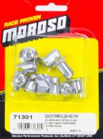 "Moroso Performance Products - Moroso Aluminum Quick Fasteners- Flush Head-7/16"" x .5"""