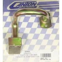 Canton Racing Products - Canton Front Sump T-Style Street / Strip Oil Pump Pickup For (15-810) Pan w/ Pump (M57HV)