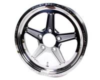 "Billet Specialties - Billet Specialties Comp 5 Wheel - 15"" x 3.5"" - 5 x 4.75"" - 1.75"" Back Spacing"