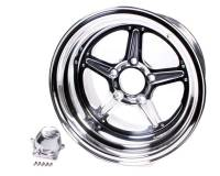 Billet Specialties - Billet Specialties Street Lite Wheel - 15 in. x 10 in. - 5 in. x 4.75 in. - 6.5 in. Back Spacing
