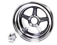 Billet Specialties - Billet Specialties Street Lite Wheel - 15 in. x 12 in. - 5 in. x 4.75 in. - 4.5 in. Back Spacing