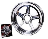 Billet Specialties - Billet Specialties Street Lite Wheel - 15 in. x 4 in. - 5 in. x 4.75 in. - 1.625 in. Back Spacing