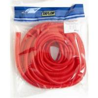 Taylor Cable Products - Taylor Convoluted Tubing - Multiple Assortment - Red-10 ft. Roll Each Of 1/4 in. ID